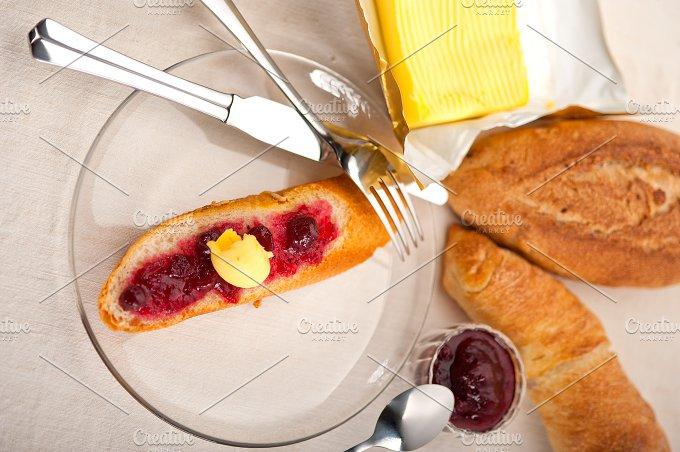 breakfast bread butter and jam 49.jpg - Food & Drink