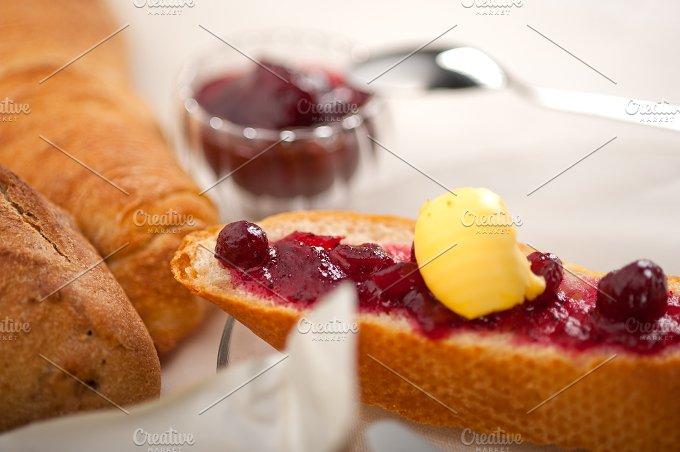 breakfast bread butter and jam 58.jpg - Food & Drink