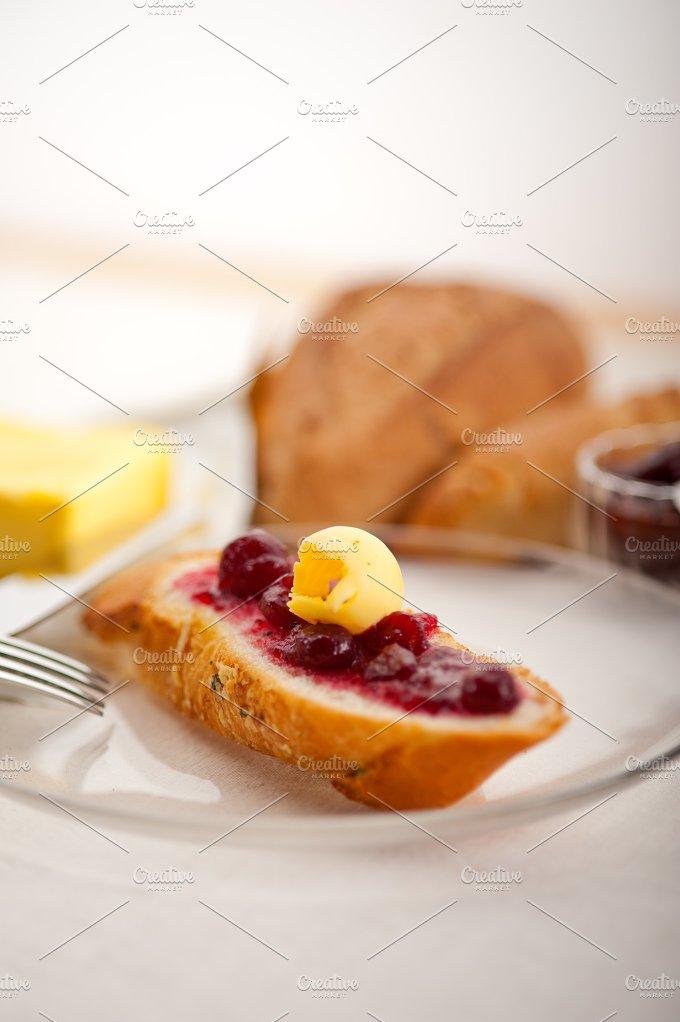breakfast bread butter and jam 51.jpg - Food & Drink