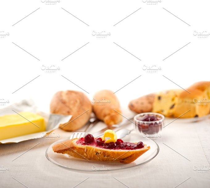 breakfast bread butter and jam 39.jpg - Food & Drink