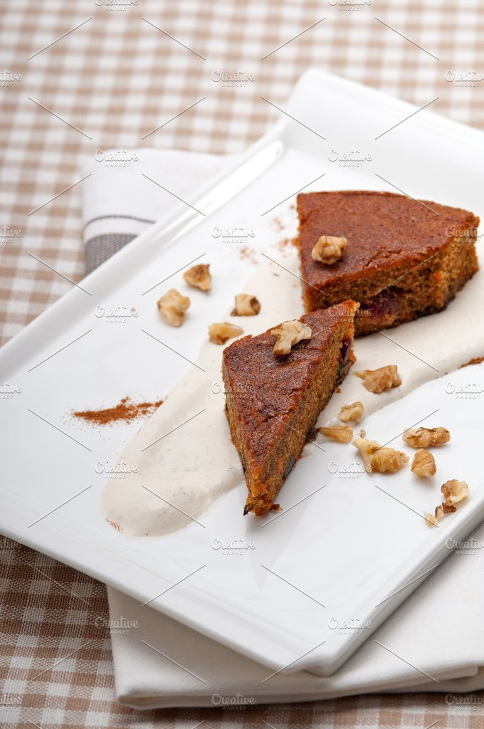 carrots and walnuts cake pie 03.jpg - Food & Drink