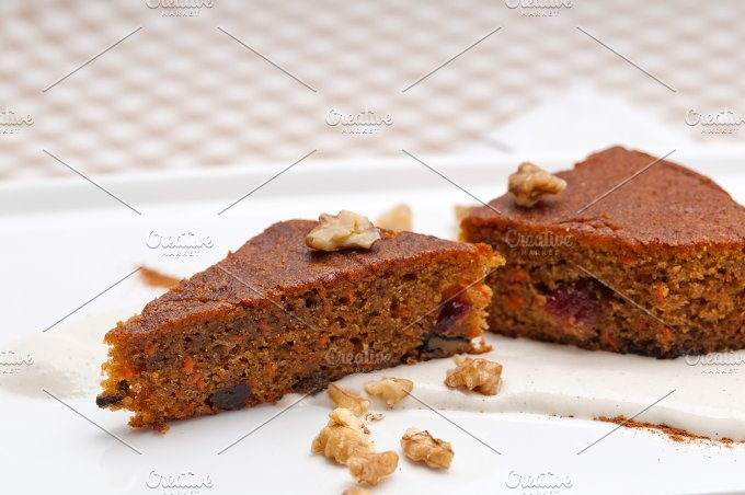 carrots and walnuts cake pie 06.jpg - Food & Drink