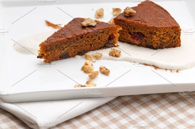 carrots and walnuts cake pie 09.jpg - Food & Drink