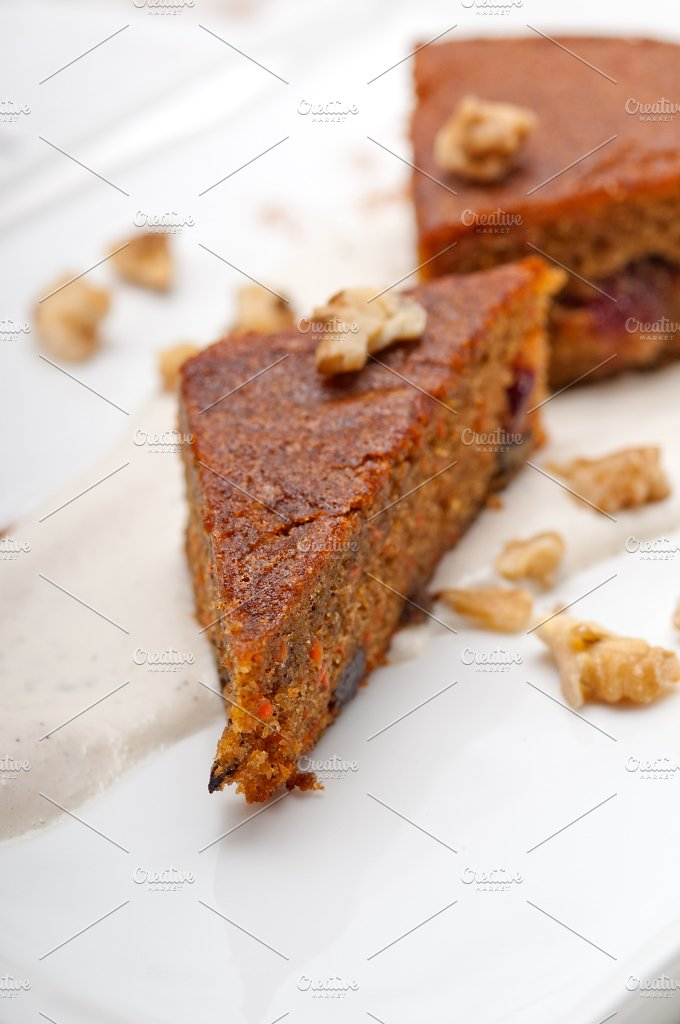 carrots and walnuts cake pie 12.jpg - Food & Drink