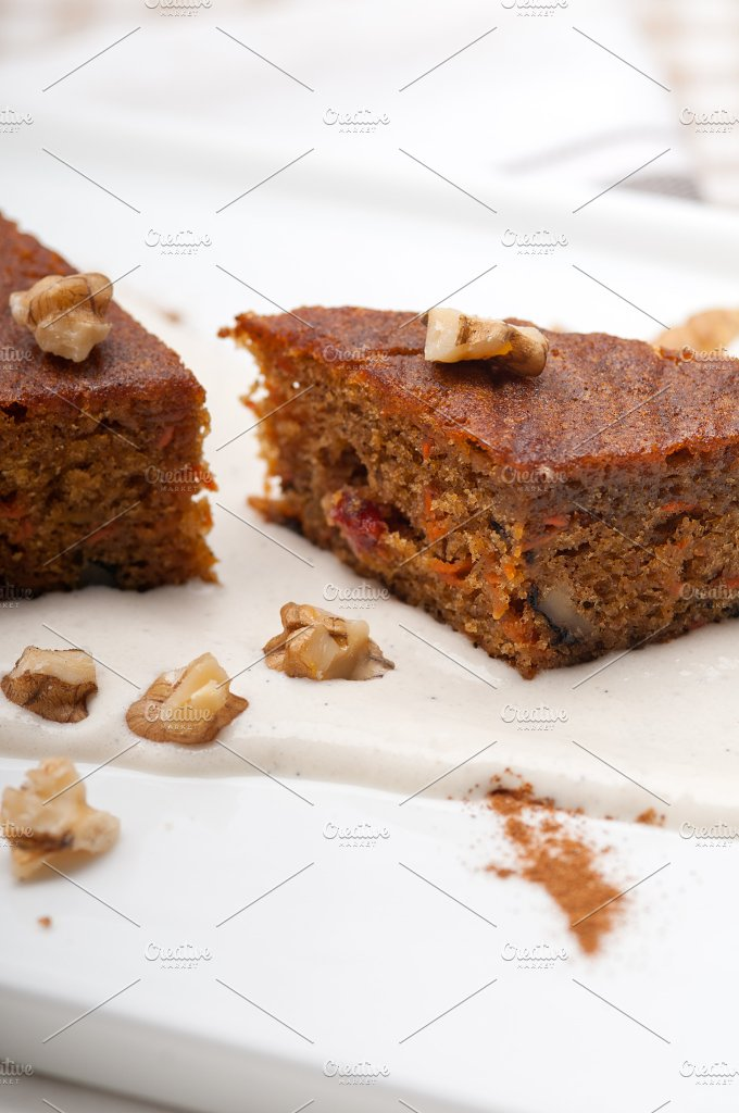 carrots and walnuts cake pie 16.jpg - Food & Drink