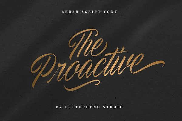 The Proactive Script