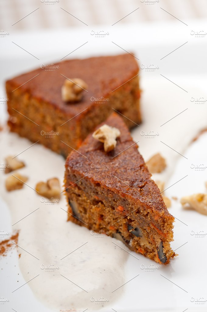 carrots and walnuts cake pie 14.jpg - Food & Drink