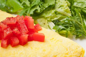 cheese omelette and salad 03.jpg