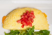 cheese omelette and salad 06.jpg