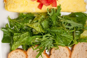 cheese omelette and salad 07.jpg