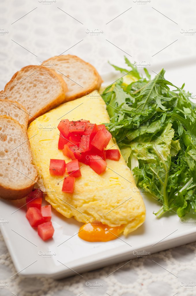 cheese omelette and salad 16.jpg - Food & Drink