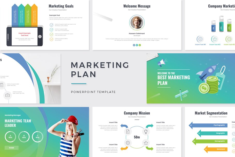 Marketing Plan PowerPoint in PowerPoint Templates - product preview 8