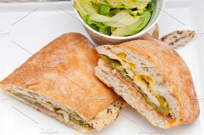 chicken roasted pepper aioli ciabatta sandwich 06.jpg - Food & Drink