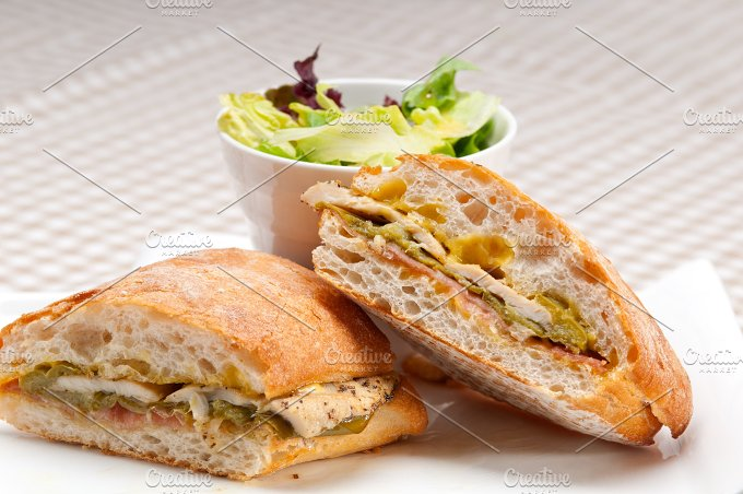 chicken roasted pepper aioli ciabatta sandwich 08.jpg - Food & Drink