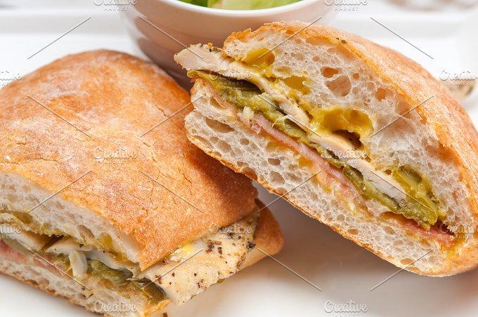 chicken roasted pepper aioli ciabatta sandwich 10.jpg - Food & Drink