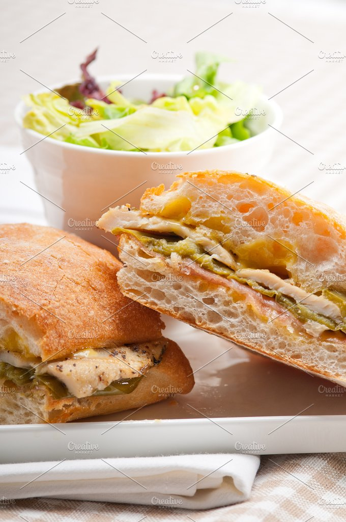 chicken roasted pepper aioli ciabatta sandwich 15.jpg - Food & Drink