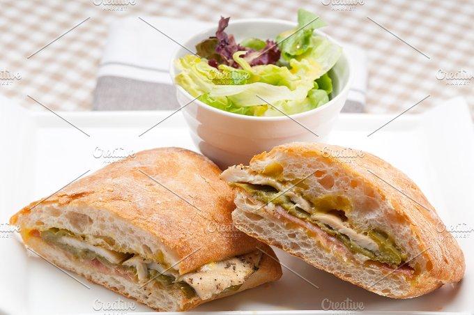 chicken roasted pepper aioli ciabatta sandwich 19.jpg - Food & Drink