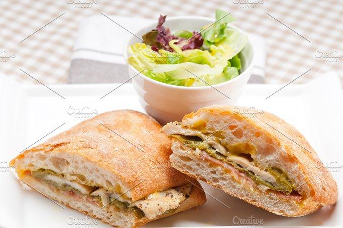 chicken roasted pepper aioli ciabatta sandwich 18.jpg - Food & Drink