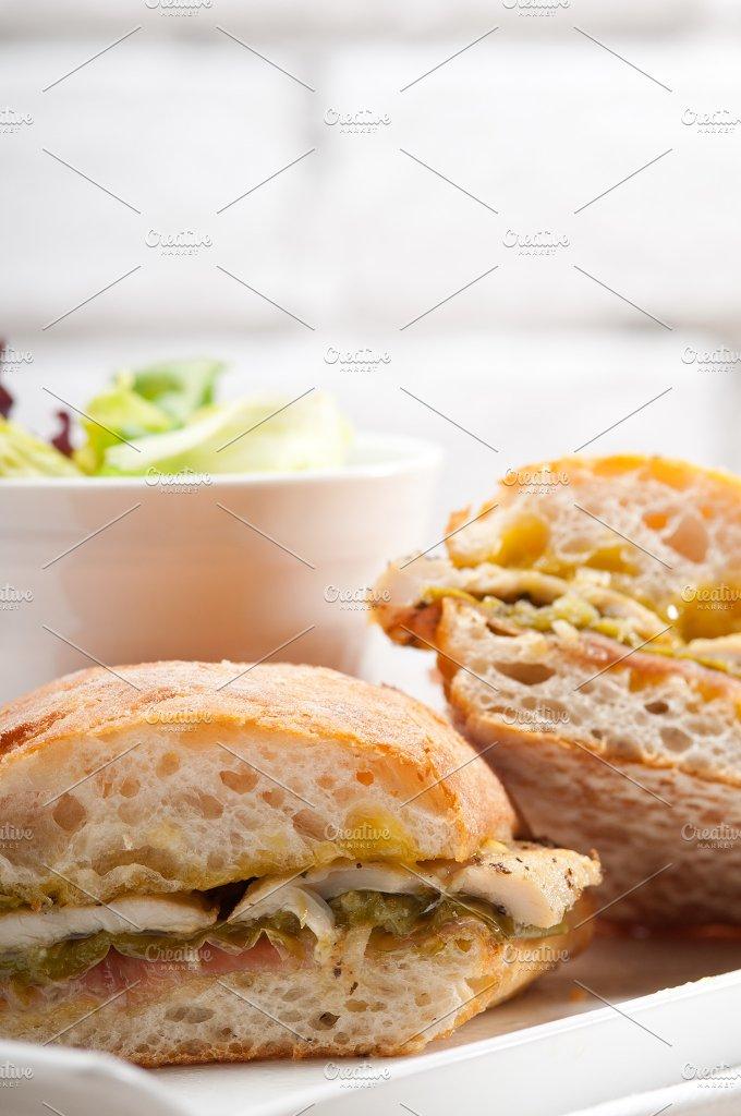 chicken roasted pepper aioli ciabatta sandwich 21.jpg - Food & Drink