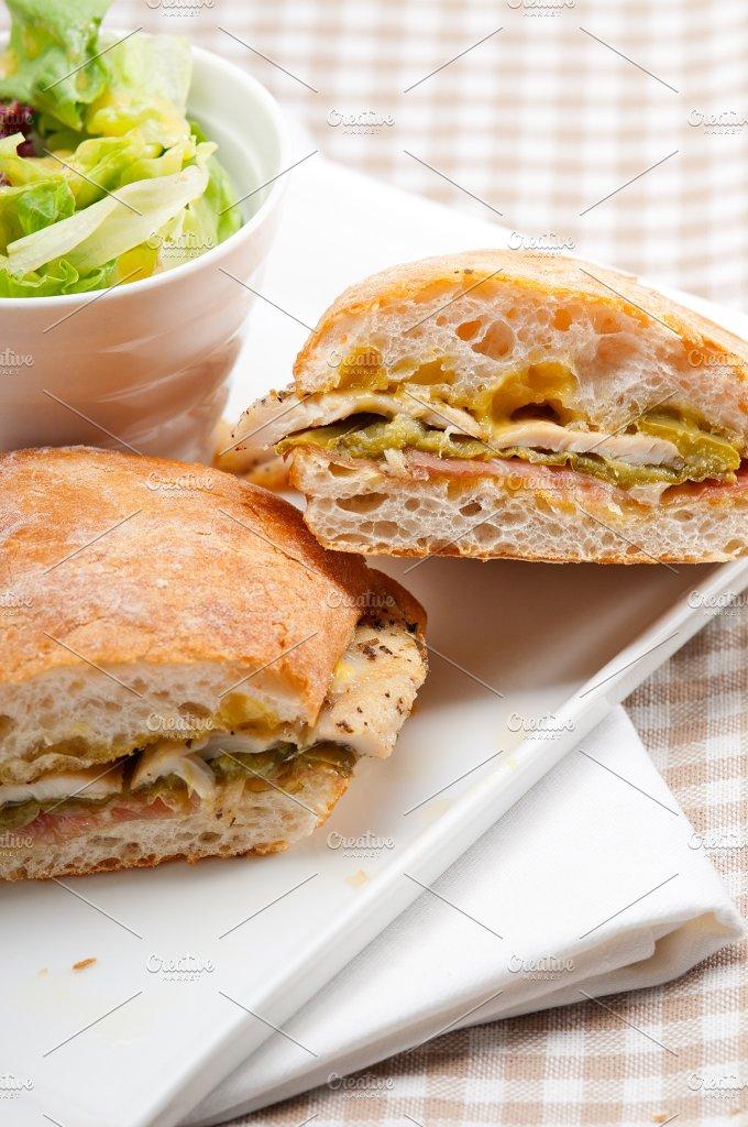 chicken roasted pepper aioli ciabatta sandwich 23.jpg - Food & Drink