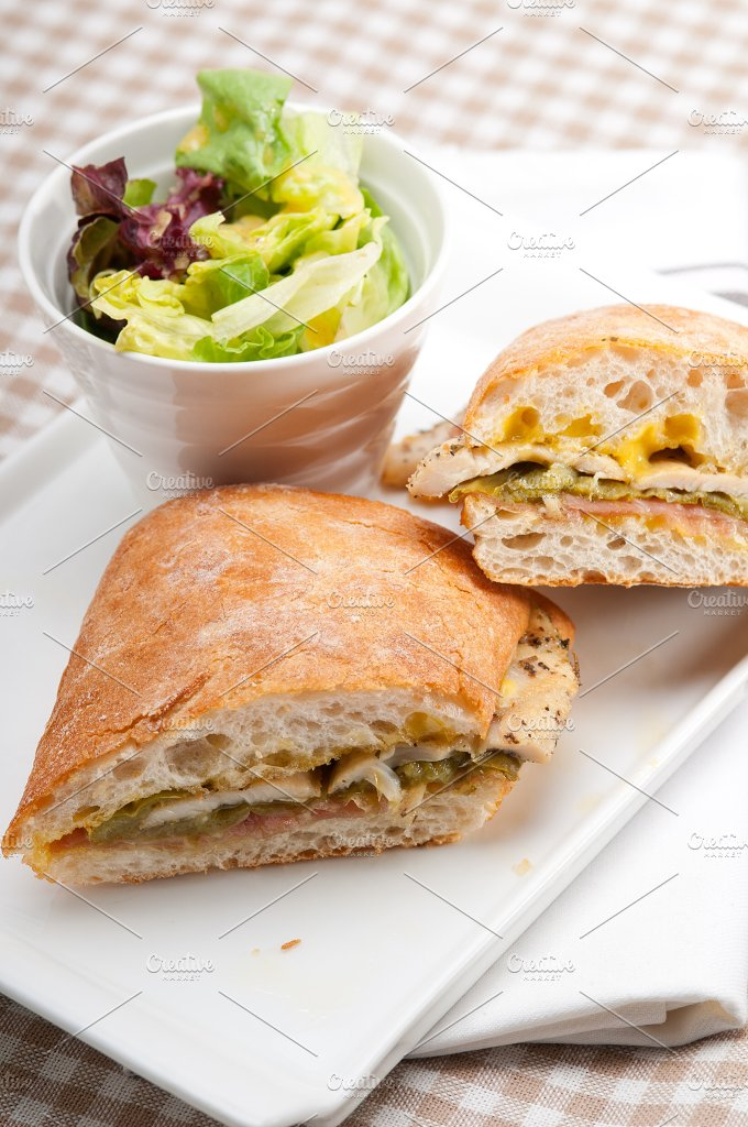 chicken roasted pepper aioli ciabatta sandwich 25.jpg - Food & Drink