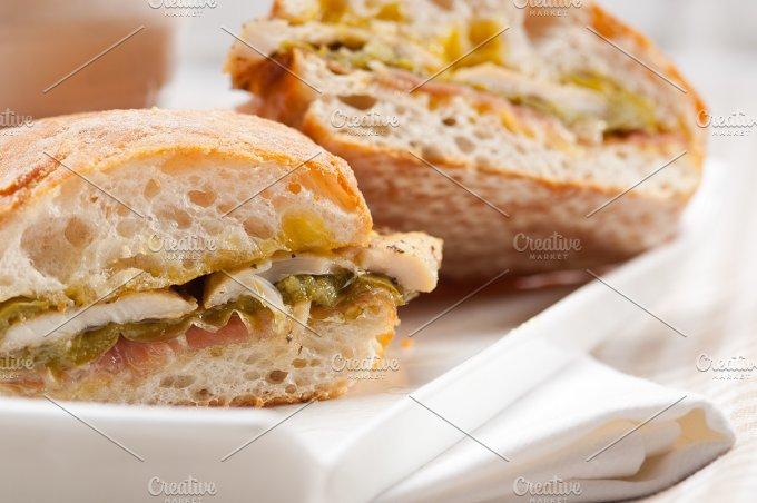 chicken roasted pepper aioli ciabatta sandwich 27.jpg - Food & Drink
