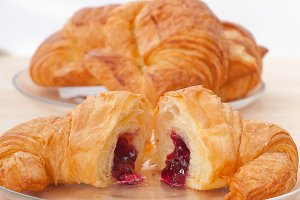 croissant french brioche filled with berries jam 08.jpg