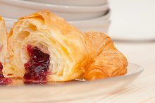 croissant french brioche filled with berries jam 12.jpg