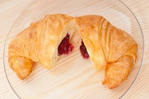 croissant french brioche filled with berries jam 16.jpg