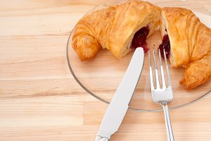 croissant french brioche filled with berries jam 36.jpg