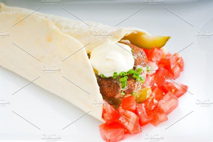 falafel wrap 4.jpg - Food & Drink