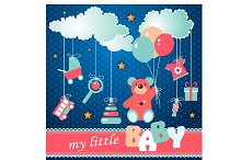 "Illustration ""My little baby"""