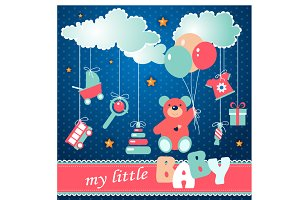 "Illustration ""My little baby"""