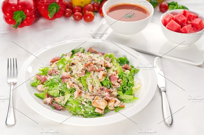 fresh caesar salad 16.jpg - Food & Drink