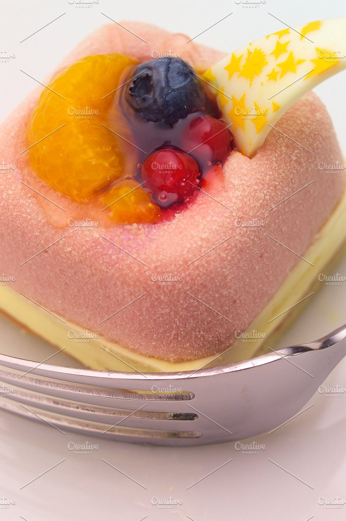 fresh fruit cake dessert H10 8.jpg - Food & Drink