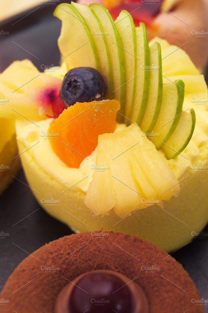 fresh fruit cake dessert H10 13.jpg - Food & Drink