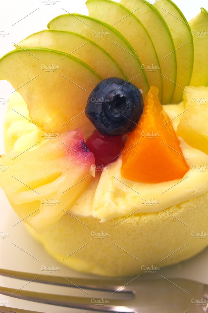 fresh fruit cake dessert H10 11.jpg - Food & Drink