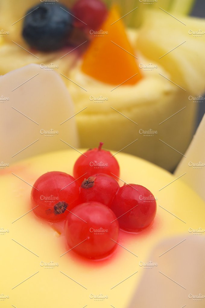 fresh fruit cake dessert H10 18.jpg - Food & Drink