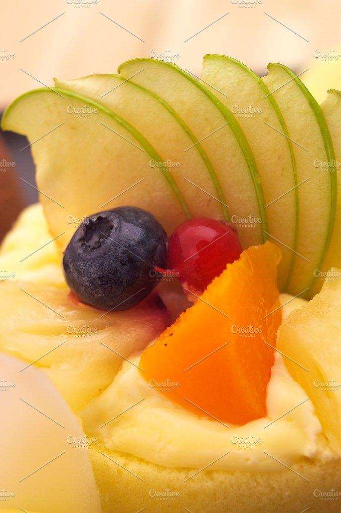 fresh fruit cake dessert H10 23.jpg - Food & Drink