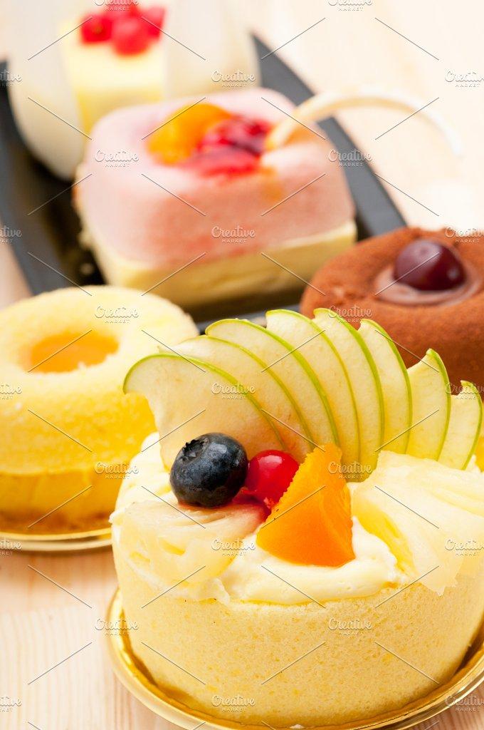 fresh fruit dessert pastry cake 19.jpg - Food & Drink