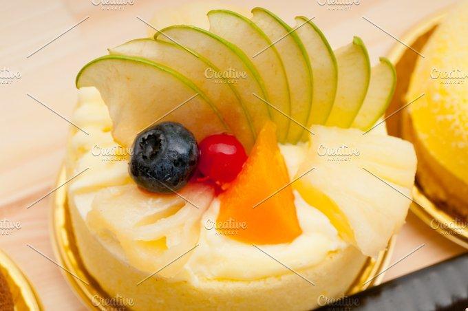 fresh fruit dessert pastry cake 28.jpg - Food & Drink