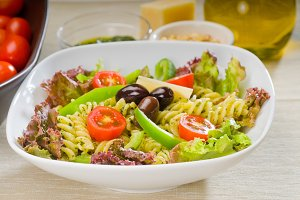 fusilli pasta salad and pesto 2.jpg