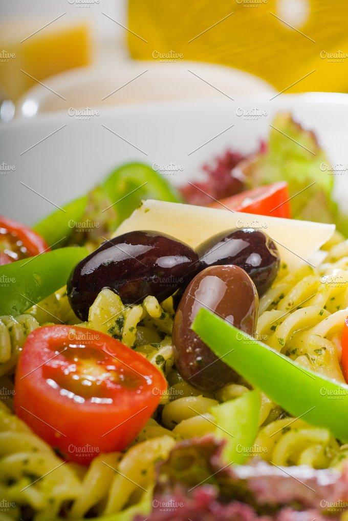 fusilli pasta salad and pesto 3.jpg - Food & Drink