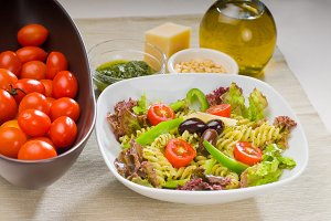 fusilli pasta salad and pesto 5.jpg