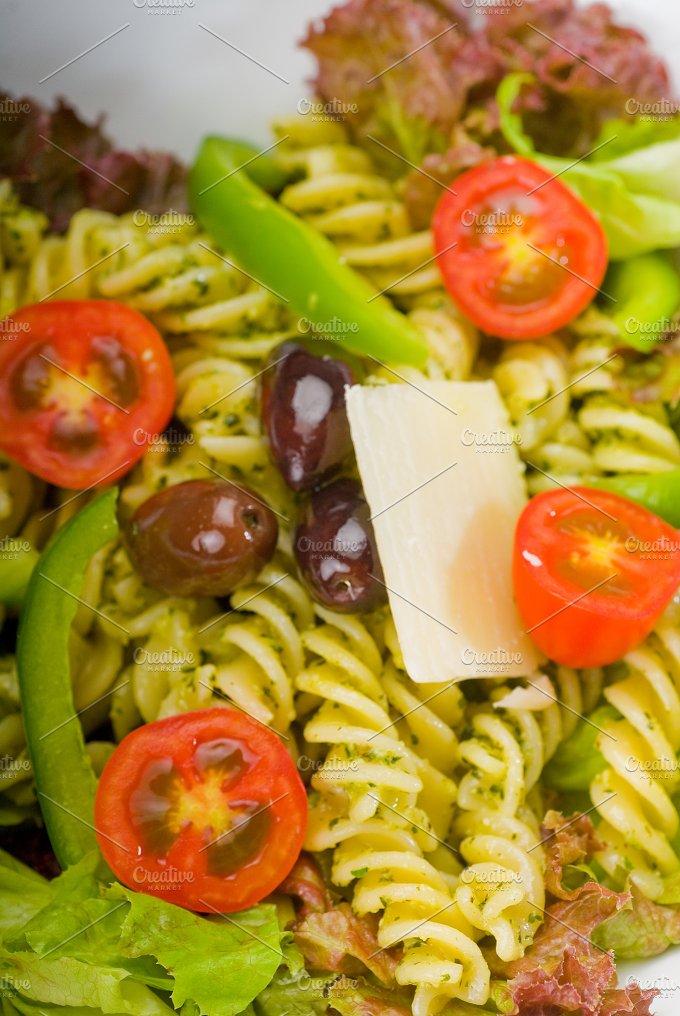 fusilli pasta salad and pesto 8 (2).jpg - Food & Drink