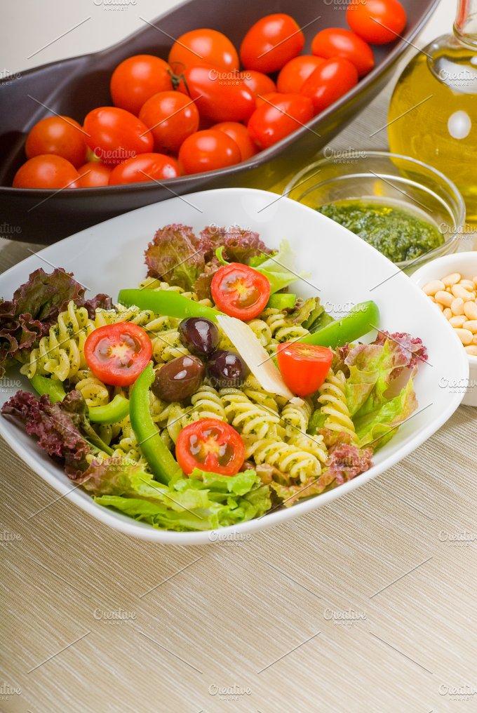 fusilli pasta salad and pesto 10.jpg - Food & Drink