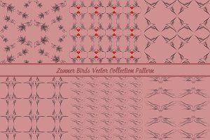 Zanner Birds Collection Pattern