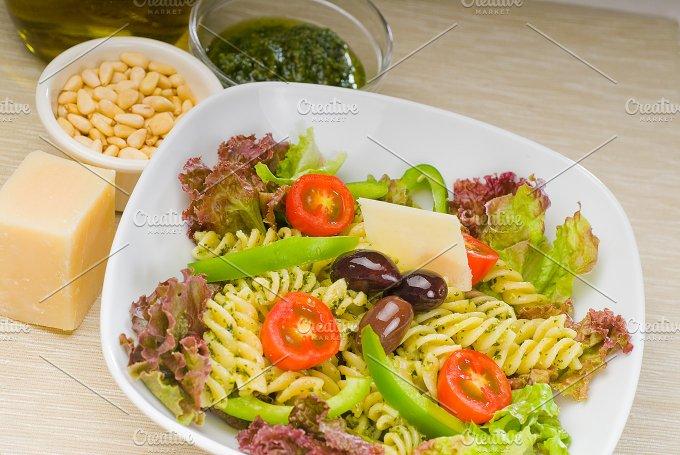 fusilli pasta salad and pesto 13.jpg - Food & Drink