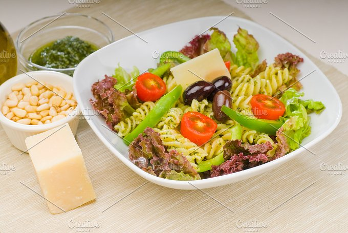 fusilli pasta salad and pesto 14.jpg - Food & Drink