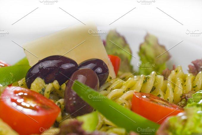 fusilli pasta salad and pesto 16.jpg - Food & Drink